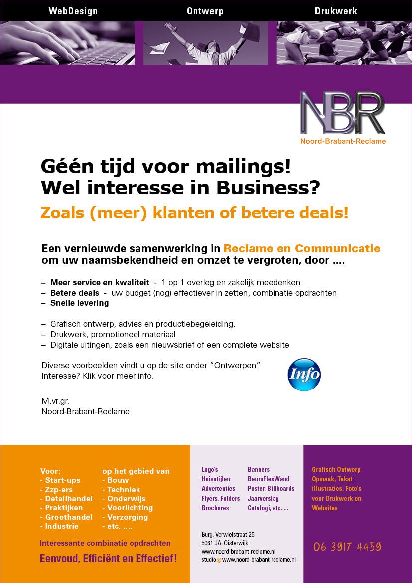 Mailing NBR